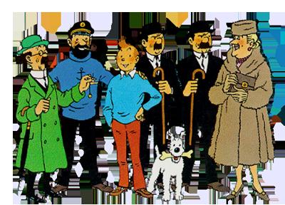 Tintin maincast
